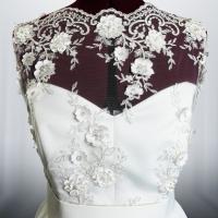 Svadobné šaty - detail